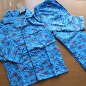 Байковая пижама Rebel Primark на 5-6 лет и 6-7 лет фланель