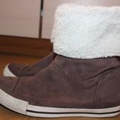 Стильные натуральные сапоги ботинки ,converse высокие all star орыгинал , конверс