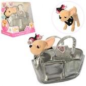 Собачка  Кикки, 22см, муз(укр), в сумке,на бат-ке.