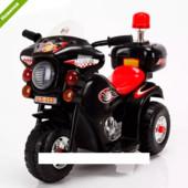 Детский мотоцикл Bambi M 3576-2 черный