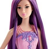 Barbie Принцесса серии Сказочно-длинные волосы, Mattel.