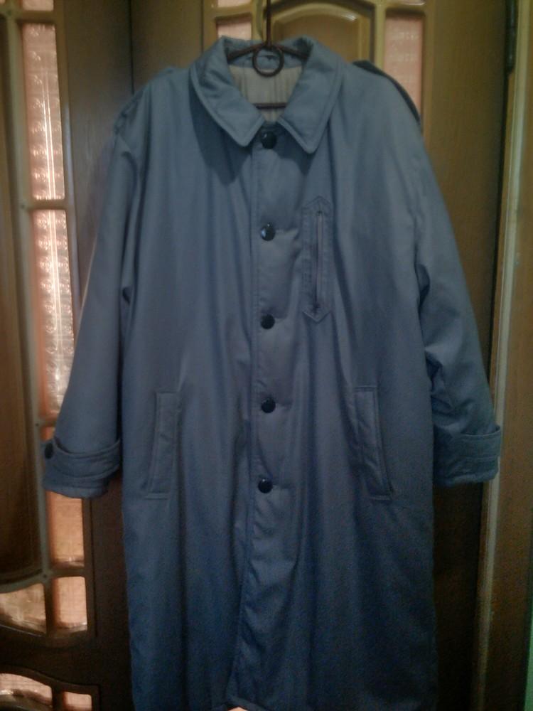 Мужское германское пальто на синтепоне 54р. фото №2