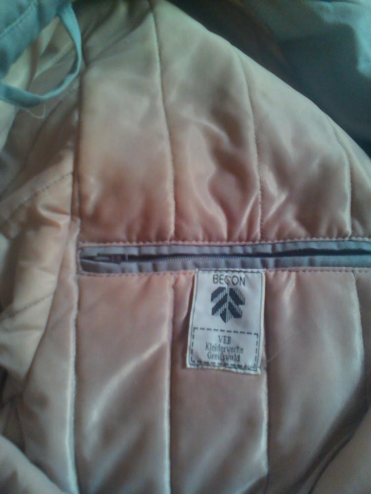 Мужское германское пальто на синтепоне 54р. фото №4