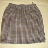 Фирменная теплая юбка на 50 52 размер идеал
