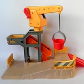 Строительная площадка ELC Happyland подъемный кран эскалатор лебедка стройплощадка