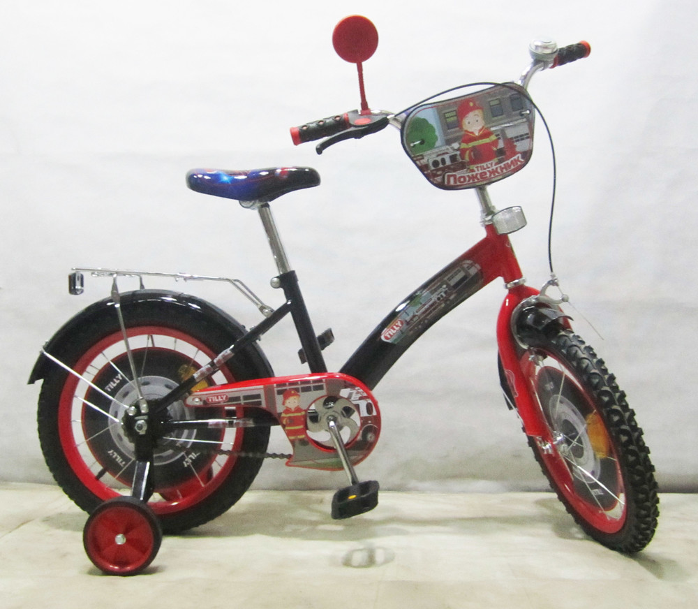 Двухколесный Велосипед Tilly Пожежник 16 T-21627 фото №1
