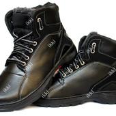 Ботинки зимние мужские стильные и удобные ПЗ-30ч