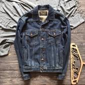 Джинсовая мужская куртка Wrangler р-р Л