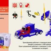 Игрушка MZ трансформер грузовик (2335P)