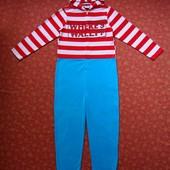 размер S, Флисовый взрослый человечек-пижама Cedarwood State, б/у. Очень хорошее состояние, без дефе