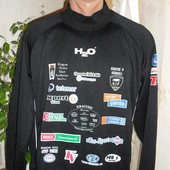 Свитшот фирменный бренд  H2o