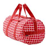 Спортивная сумка, красный/белый  103.305.09