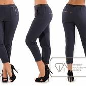 Х7301 Стильные брюки 48-56рр 3 цвета
