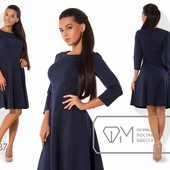 9686 Красивое платье 2 цвета