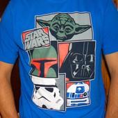 Брендовая стильная футболка Star Wars л .