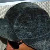Зимняя фирменная шапка ушанка бренд Royal 58-59