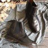 Кожаные мужские ботинки челси р-р 42