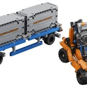 Lego technic контейнерный терминал container yard 42062 building kit