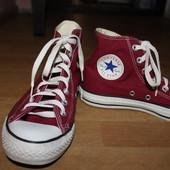 Орыгинальные кеды all star converse . конверсе цвета марсал