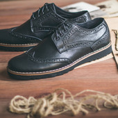 Туфли Shamrock - Brogues, Black