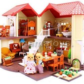 Животные флоксовые Загородный домик 012-01 Happy Family
