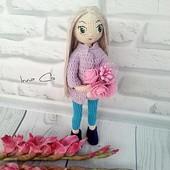 Каркасная куколка Мила