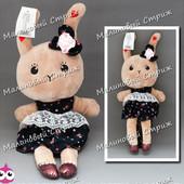 Мягкая игрушка Зайчик - Кролик, 046-2, 38 см