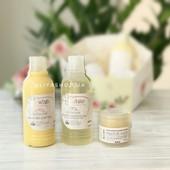 Набір дитячих засобів від т.м. White Mandarin ( молочко для тіла, крем,шампунь, )