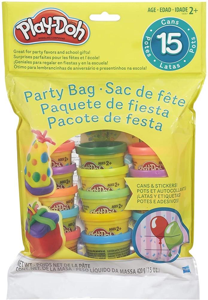 Набор play-doh 15 баночек разноцветного пластилина 420 грамм фото №1