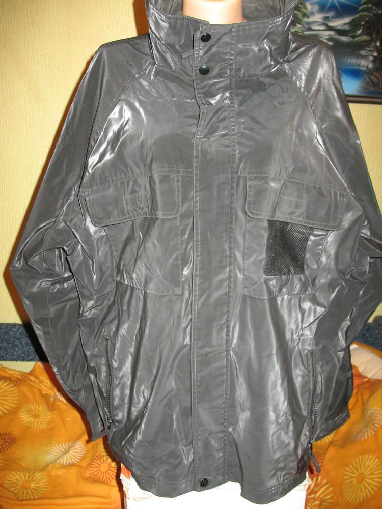 Куртка прорезиненная,р.54-56.нюанс. фото №1