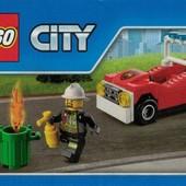 Мини-набор Lego City Пожарная машина