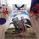 Постельное белье Tac Disney - Train Your Dragon подростковое