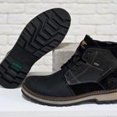 Новинка!!!зимние мужские ботинки натуральная кожа