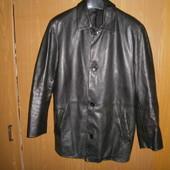 кожанная куртка-пиджак