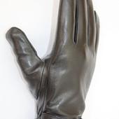 Мужские зимние перчатки, кожа .