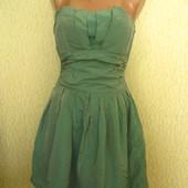 Красивое вечернее платье с отливом ткани Oasis,р.10,отличное состояние