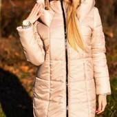 Размеры 42-48 Стильная зимняя женская теплая куртка