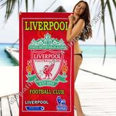 Пляжное полотенце Ливерпуль 70*140 см микрофибра (2279)