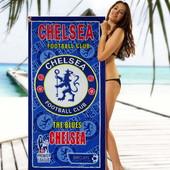 Пляжное полотенце Челси 70*140 см микрофибра (2286)