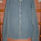 Джинсова рубашка Zara размер М