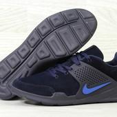 Кроссовки мужские Nike Air Presto dark blue, замш