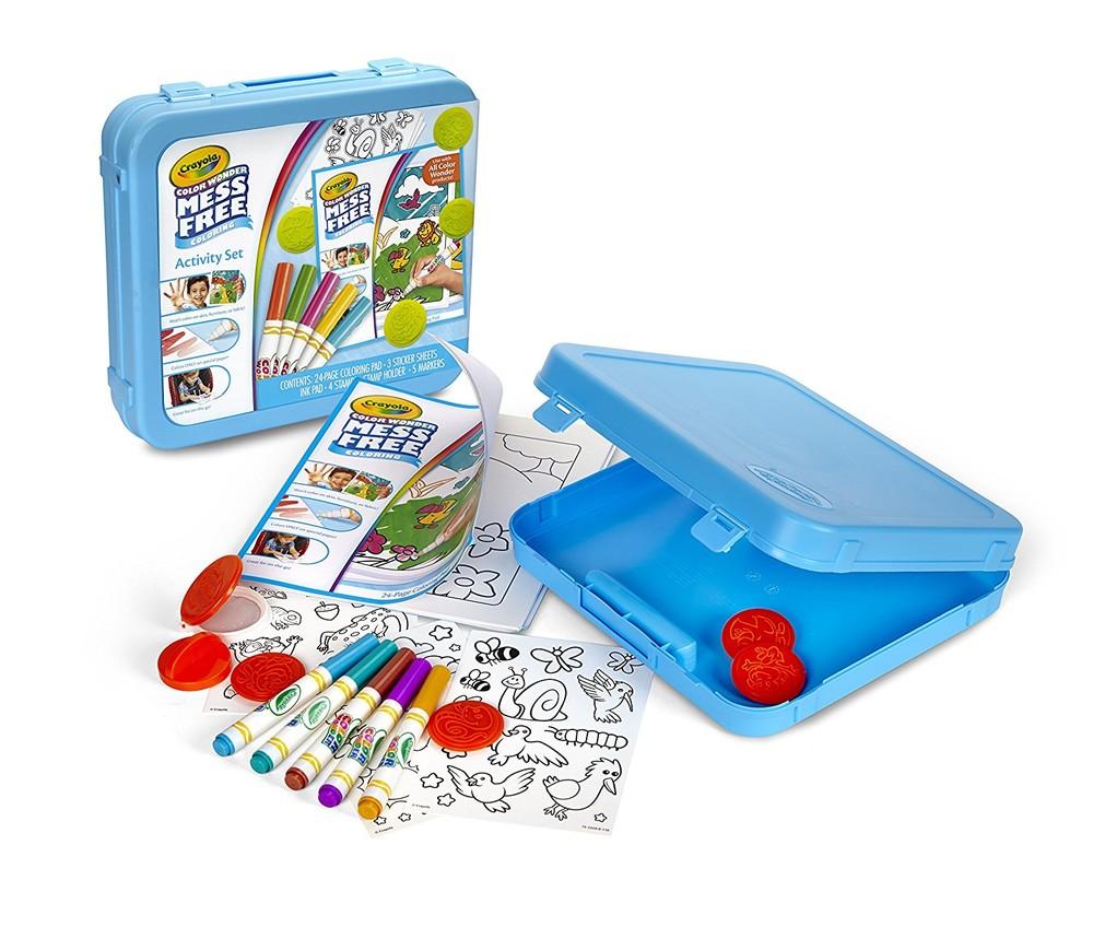 Crayola Набор для творчества для маленьких животные color wonder art kit animal theme toy фото №1