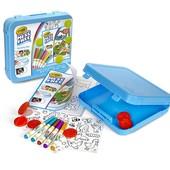 Crayola Набор для творчества для маленьких животные color wonder art kit animal theme toy