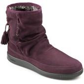 зимние сапоги ботинки Hotter 25 см стелька замша натур мех 38 размер в идеале