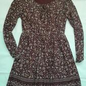 Платье в цветочный принт ( M-L )