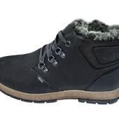 Ботинки мужские кожа зимние на меху Club Shoes Techlite Stael R1