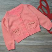 Кардиган,пуловер с микроблеском George (9-12 мес)