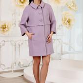 Размеры 44-54 Элегантное женское шерстяное пальто