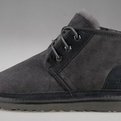 Ботинки Ugg Neumel на овчине, серый, коричн., р. 41-46, код fr-2380