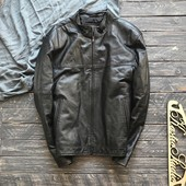 Кожаная натуральная куртка р-р M